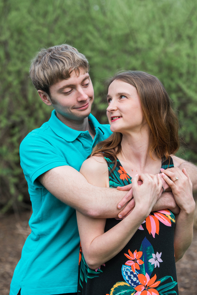 Engagement Photos, Longwood Gardens, Portrait